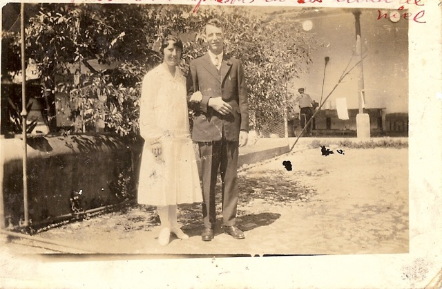 Evelyn McElheren on her wedding day in Cuba
