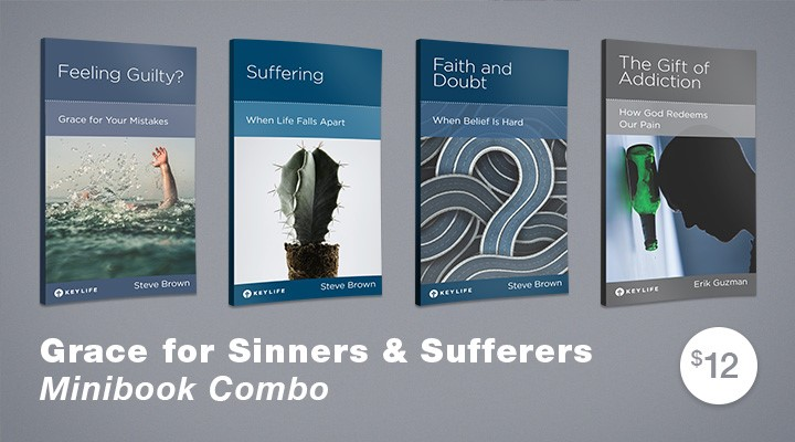 New Key Life Minibooks - Sin, Suffering & Grace