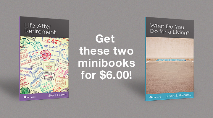 New Key Life Minibooks on Work and Retirement