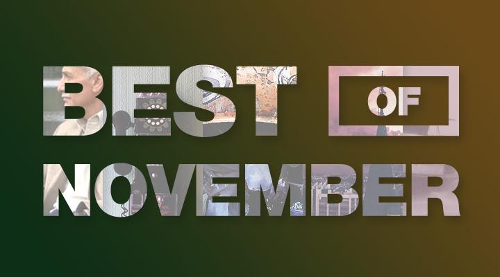 November's Top 5 Posts