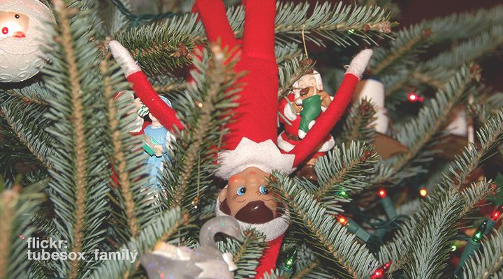Jesus Pushed the Elf Off the Shelf, by Kimm Crandall