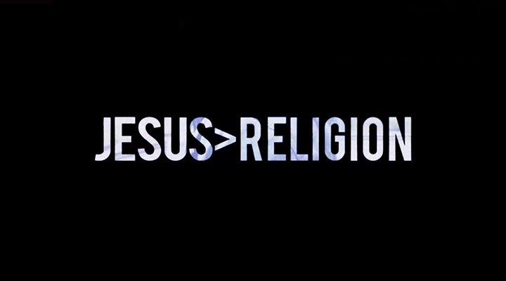 Can You Really Love Jesus and Hate Religion?