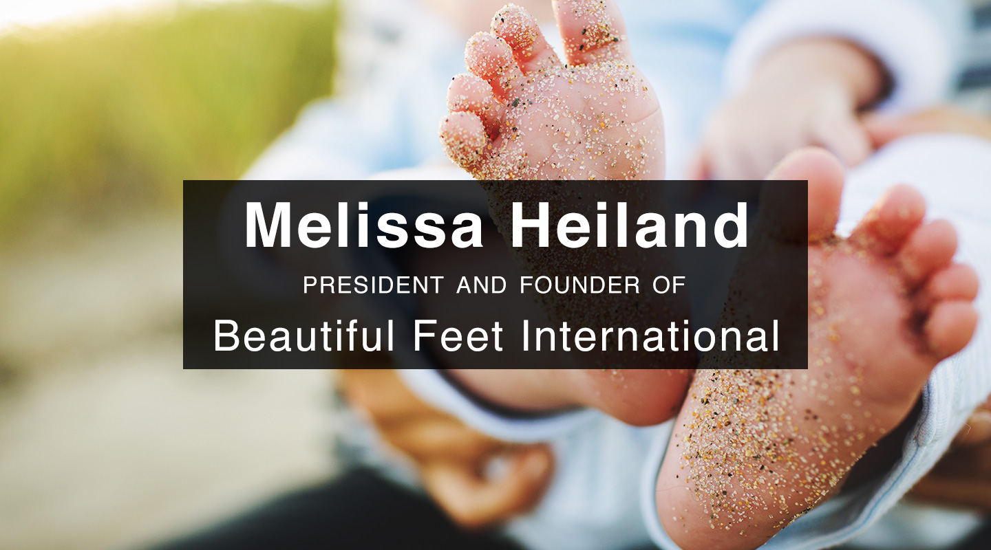 Beautiful Feet - Melissa Heiland