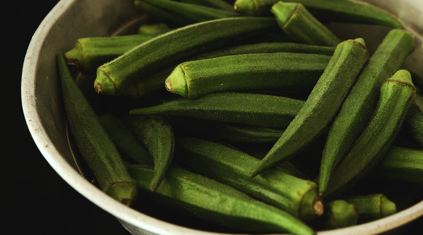 A Thankful Heart…for Okra?