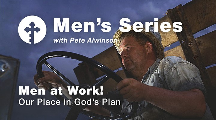 Men at Work! Our Place in God's Plan