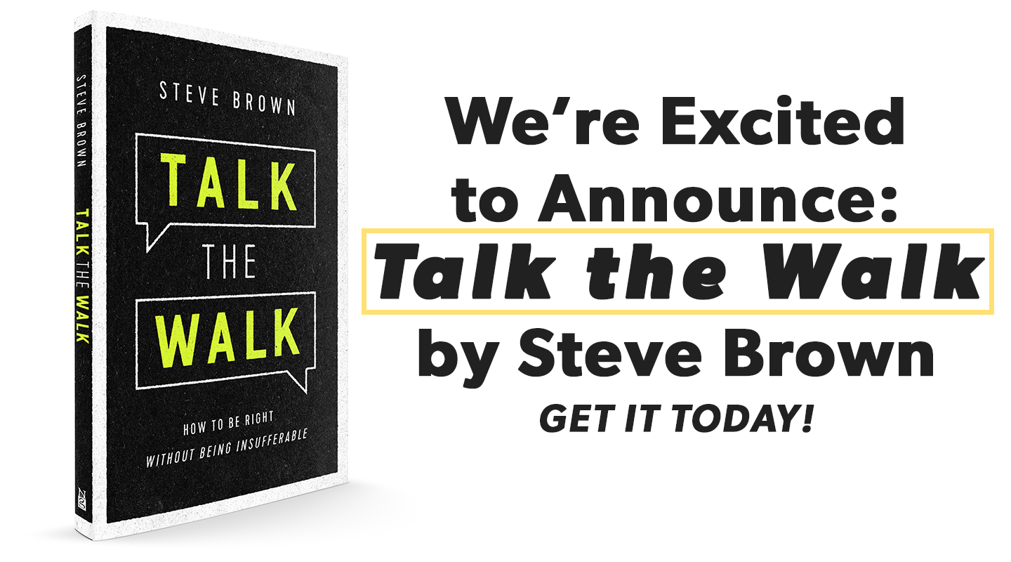 It's Here! Get 'Talk the Walk', by Steve Brown video thumbnail