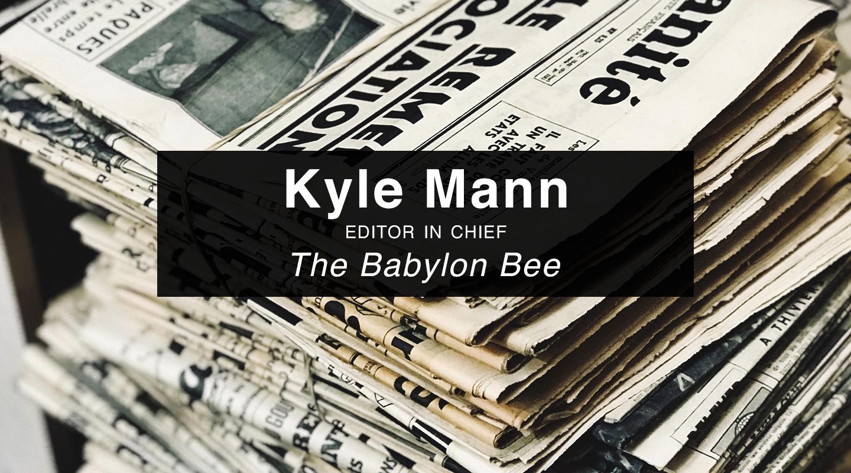 The Babylon Bee Book - Kyle Mann video thumbnail