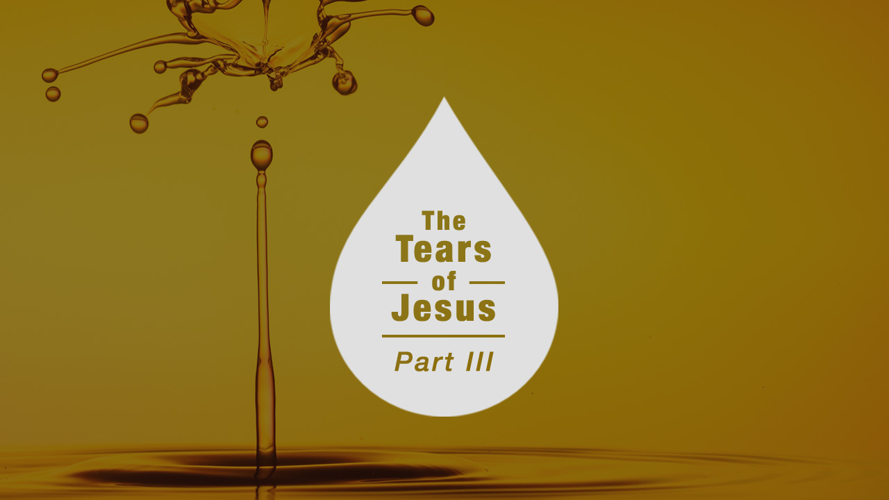 The Tears of Jesus - Part 3