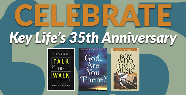 Celebrate Key Life's 35th Anniversary with these 3 books.