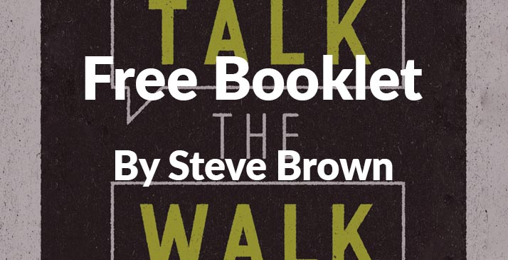 Get your Free Talk The Walk Booklet