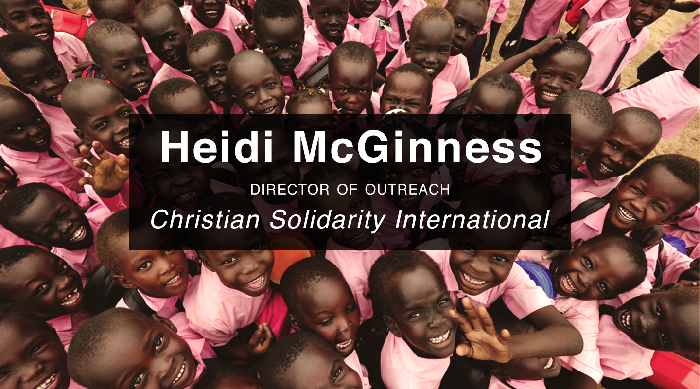 Slavery in Sudan - Pastor Heidi McGinness