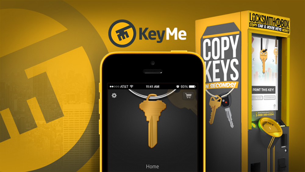 KeyMe's key duplication technology prevents lost keys