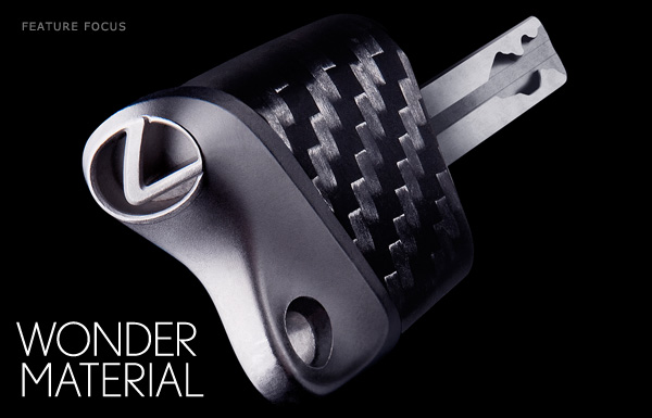 Lexus Carbon Fiber Car Key