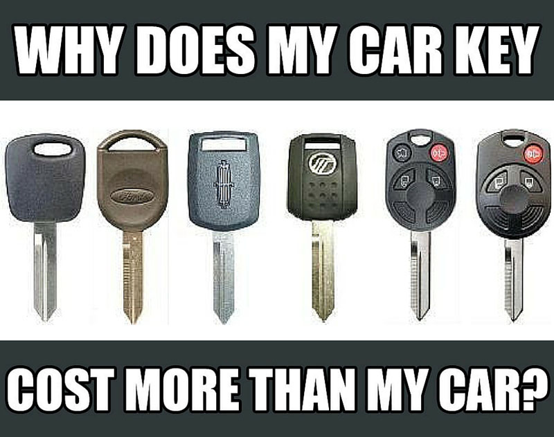 Why Does My Car Key meme 1