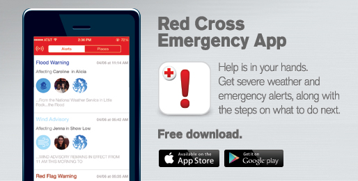 Red Cross Emergency & Safety app