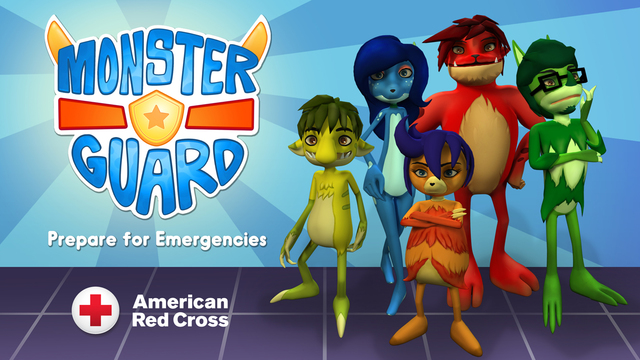 Red Cross Monster Guard Safety App