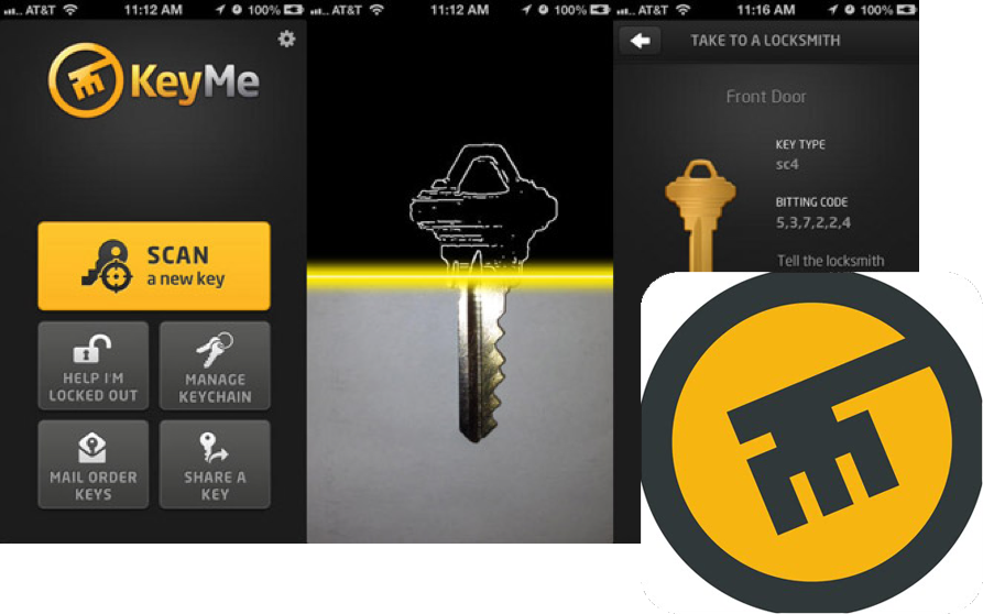 Don't get locked out with the KeyMe key duplication app