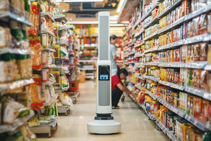 Tally the Inventory Retail Robot