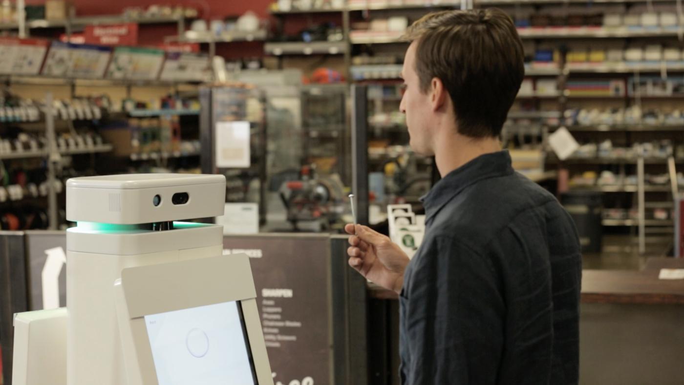 Oshbot Lowe's Retail Robot