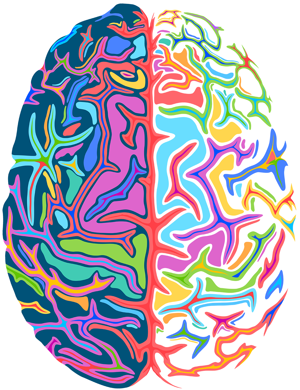 psychedelic brain 1