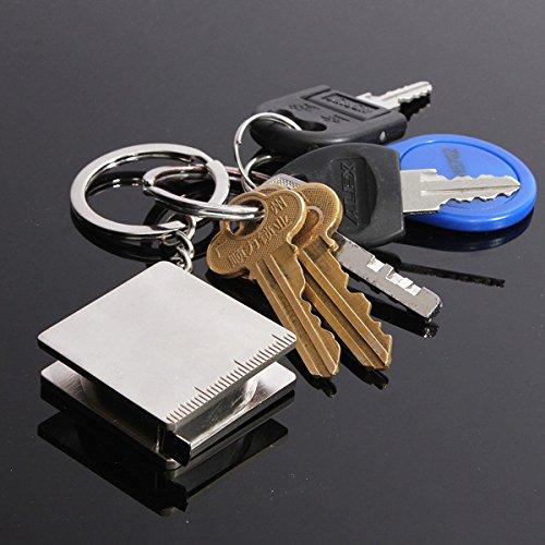 Practical Creative Tape Measure Keychain