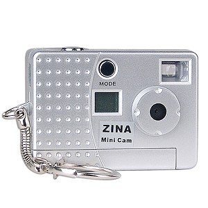 Zina 300K Mini Digital Keychain Camera