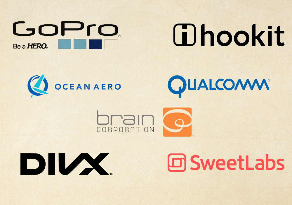 San Diego Tech Companies Array