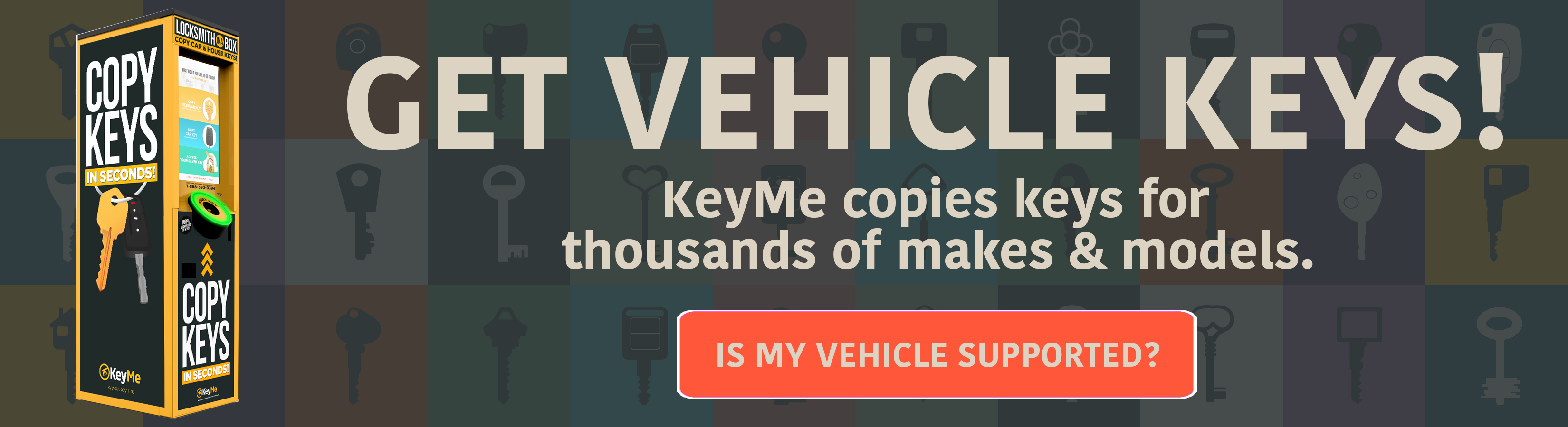Get Vehicle Keys Call To Action