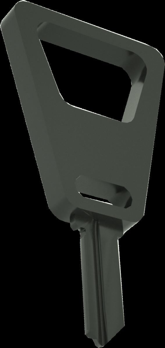 3D BOTTLE OPENER BLACK
