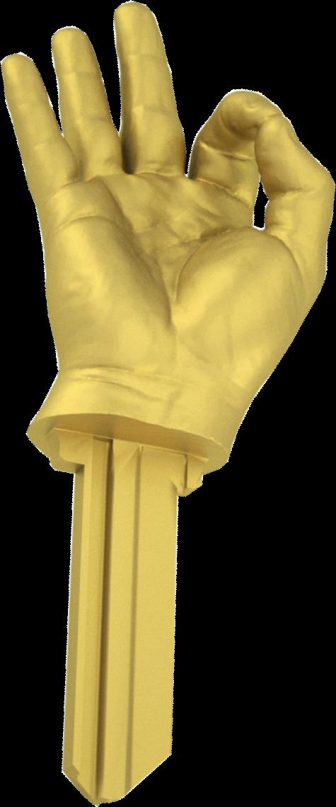 3D HAND BRASS
