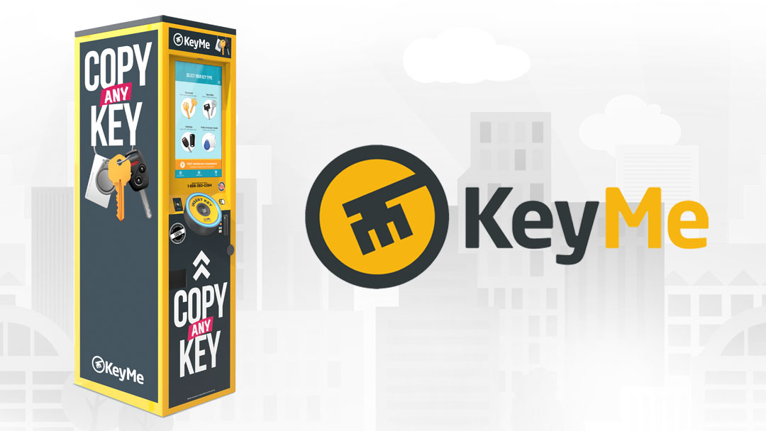 KeyMe locksmith in a box