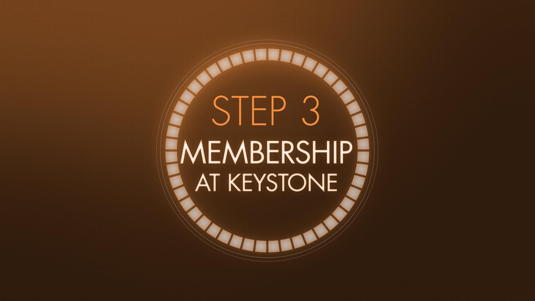 Step 3 - Membership