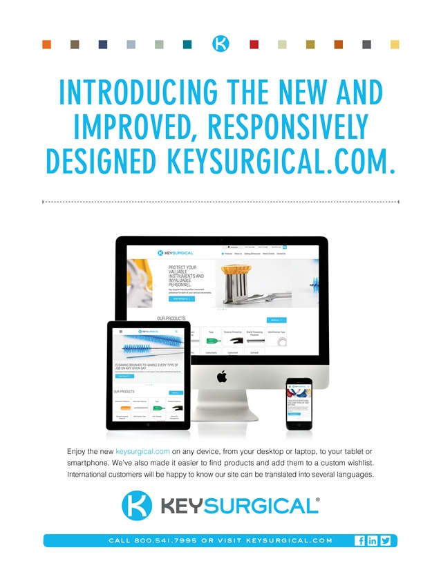 Key Surgical Launches New and Improved, Responsively Designed Website