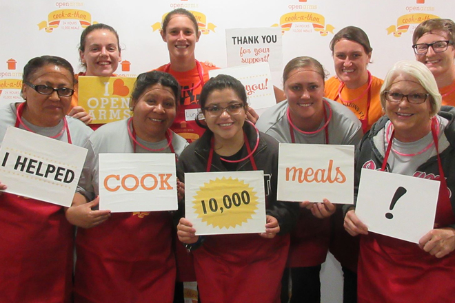 24 Hours of Cooking - 10,000 Meals