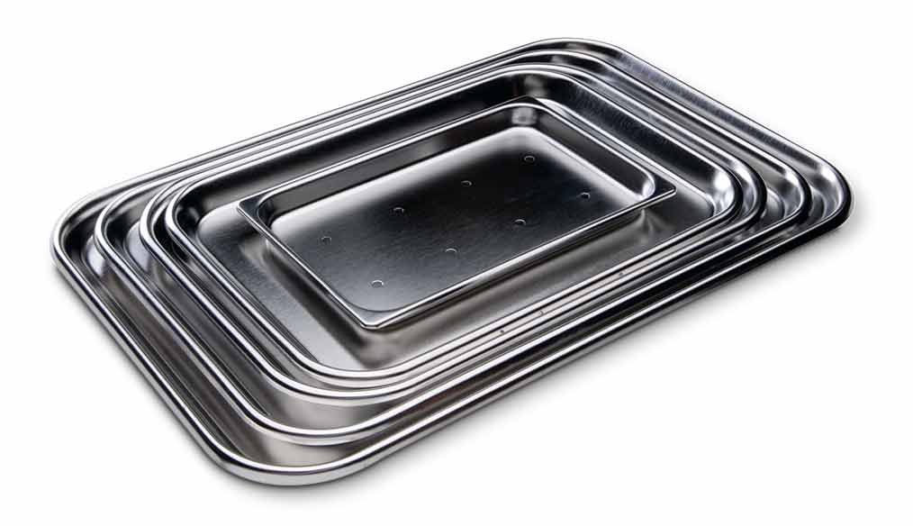 perforated mayo trays key surgical