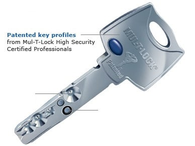 Mul-T-Lock High-Security Key