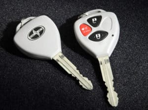 Scion Key Duplication