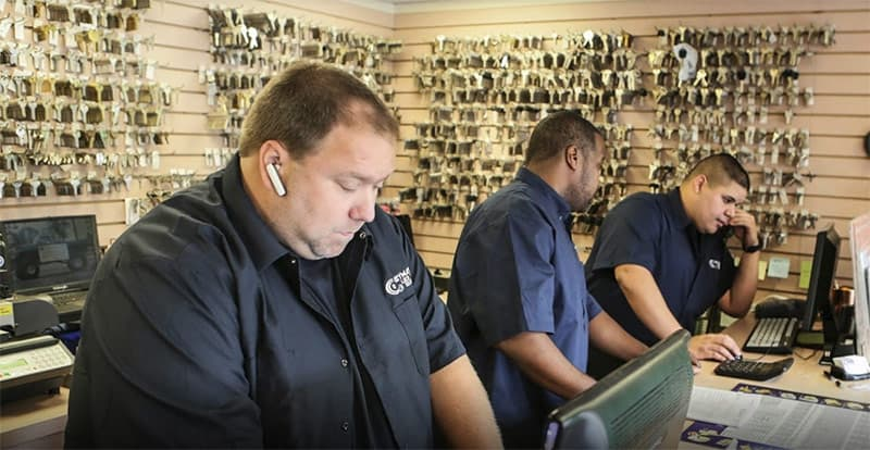 We have professional locksmith staffing both of our store locations. So stop by today!