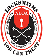 ALOA logo. Locksmiths You Can Trust