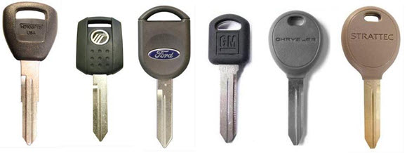transponder keys made in Chicago image
