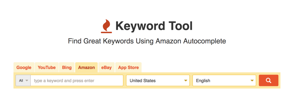 keyword tool for amazon