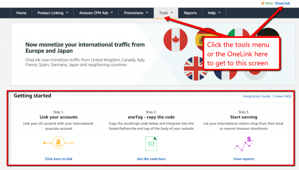 How to create your own Amazon affiliate links