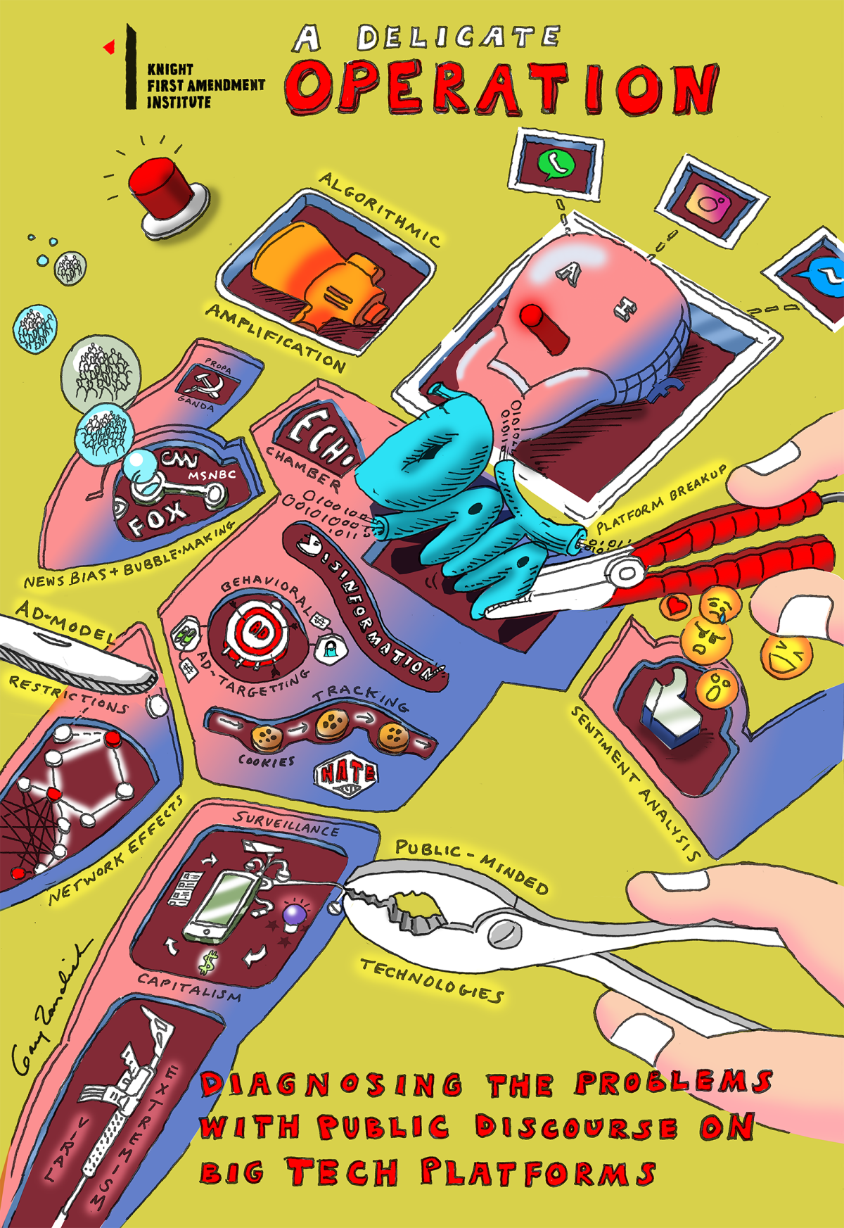 The Tech Giants, Monopoly Power, and Public Discourse: Visualizing the Conversation