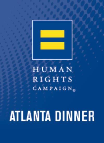 33rd Annual HRC Atlanta Gala Dinner and Auction