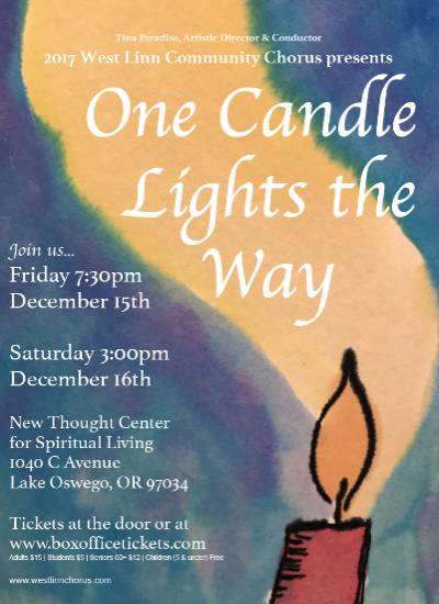 One Candle Lights the Way