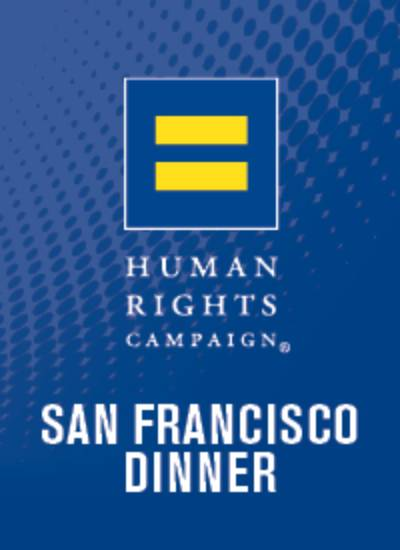 34th Annual San Francisco Bay Area HRC Gala Dinner & Auction