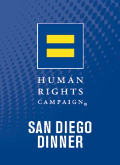 HRC San Diego Gala Dinner 2018