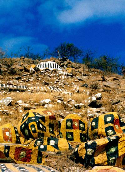 The Painted Rocks at Revolver Creek by Athol Fugard