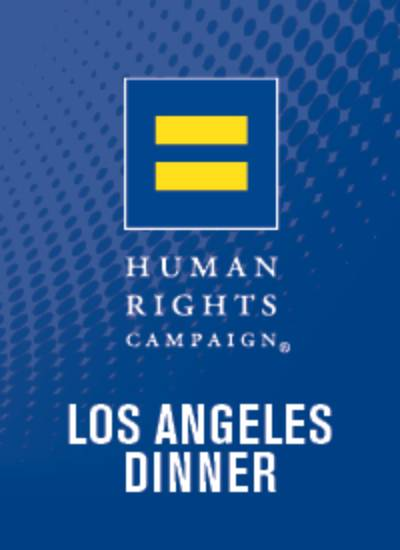 2019 HRC Los Angeles Dinner