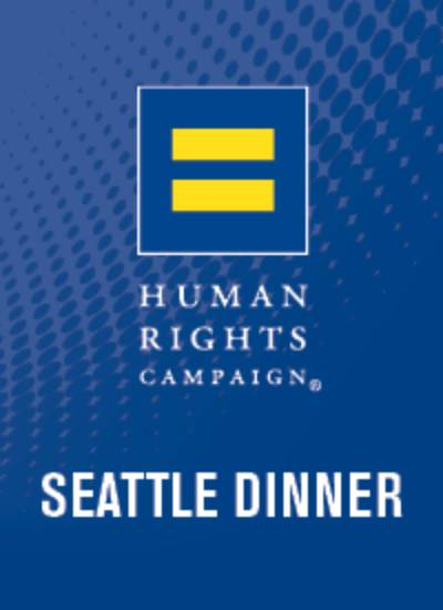 19th Annual HRC Seattle Dinner